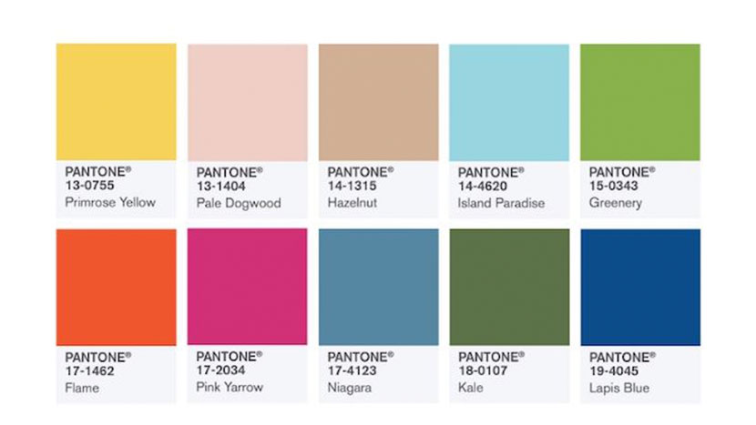 Fashion Color Report de Pantone