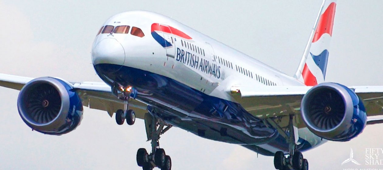 British Airways regresa con vuelo directo entre Londres y Santiago