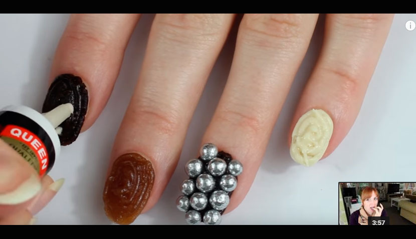 Manicure de Chocolate