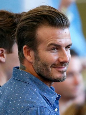 Hey David Beckham, ¡Hazme un queque, por favor!