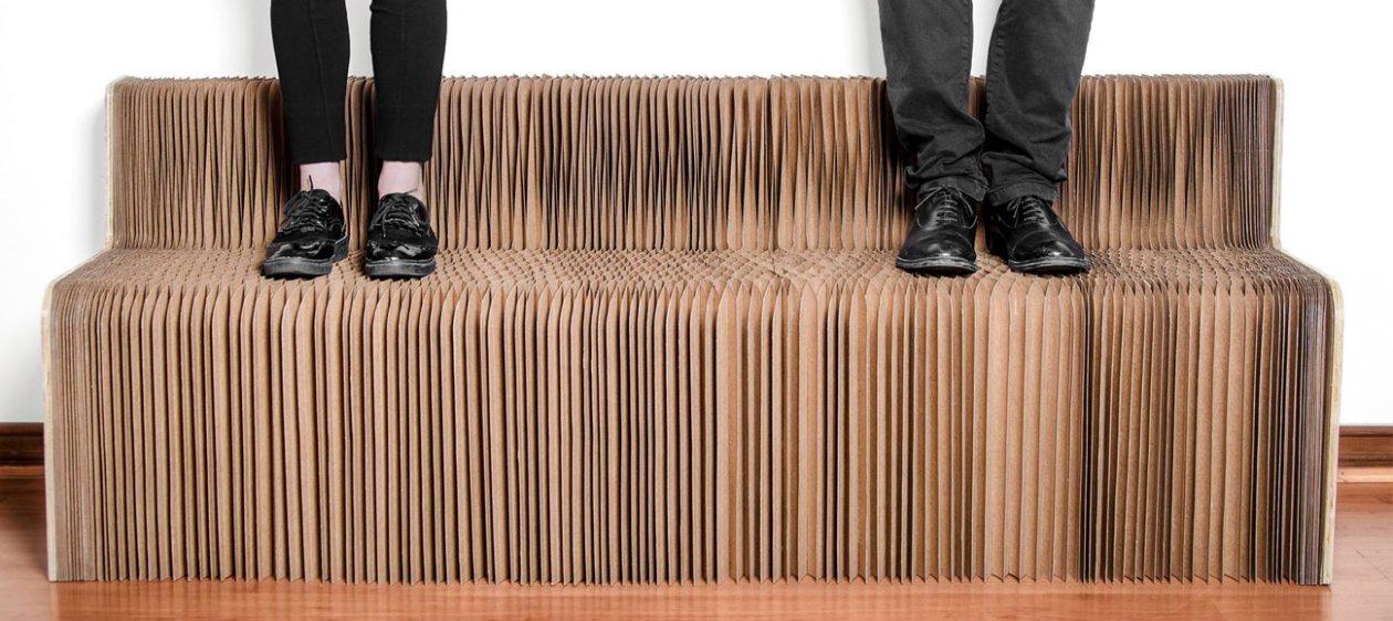 Un nuevo emprendimiento que ofrece muebles de papel for Muebles de papel
