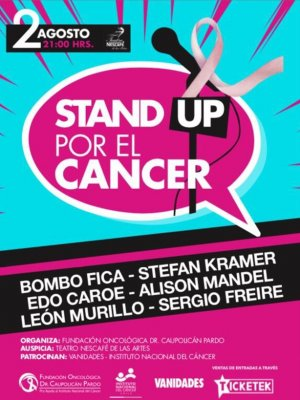 #Panorama: Stand Up a favor del cáncer