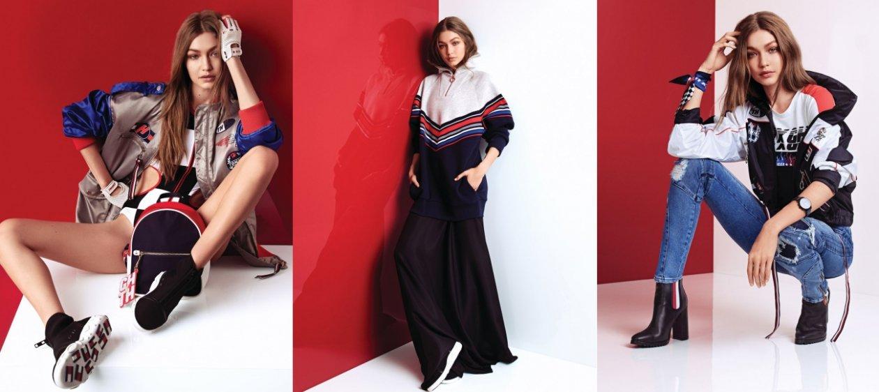 3b0c88e4a75 Gigi Hadid debuta en Milán con su colección para Tommy Hilfiger