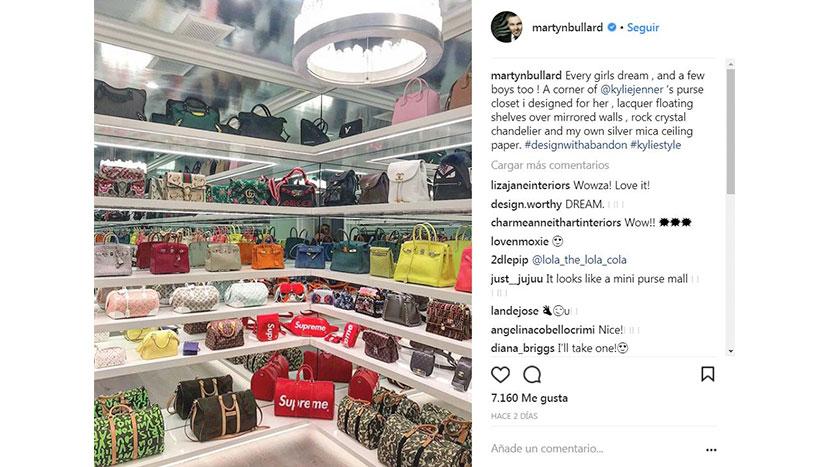 58456c1c7 Entre todos los bolsos Gucci, Louis Vuitton, Supreme, Chanel, Fendi,  Hermés, etc, que se encuentran dentro de este armario hay más de 1 millón  de dólares de ...