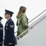 ¡Impactante! El peor error fashion de Melania Trump