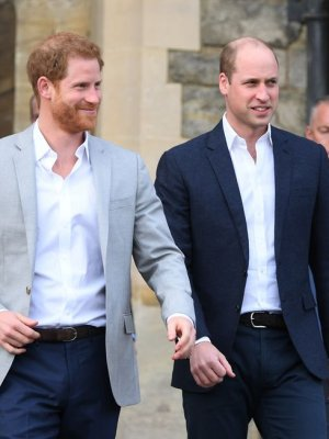 Los Príncipes William y Harry se negaron a conocer a Donald Trump
