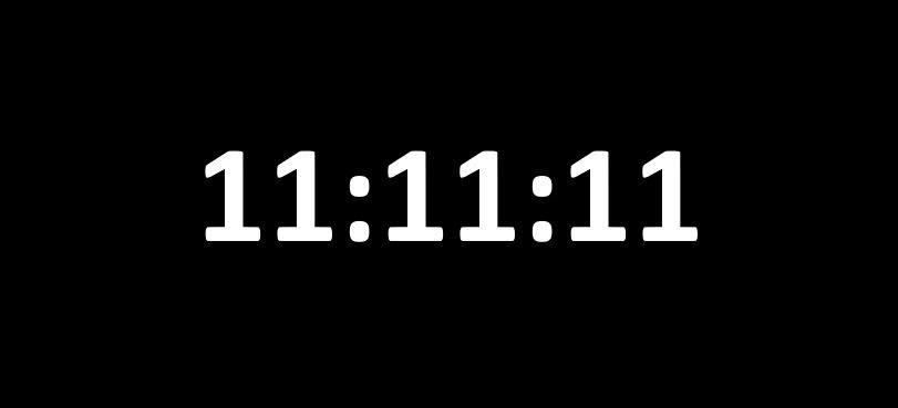 Ritual: Pasos para pedir este domingo 11.11.11