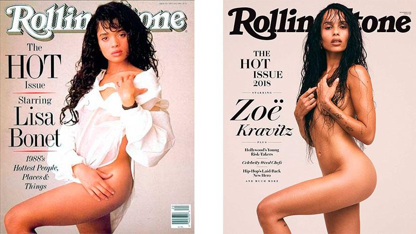 La Respuesta De Lenny Kravitz Ante Un Desnudo De Su Hija En