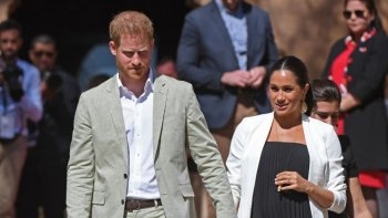 [VIDEO] Harry y su broma sobre el embarazo de Meghan