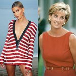 Hailey Bieber se transformó en Lady Di para la última edición de Vogue Paris