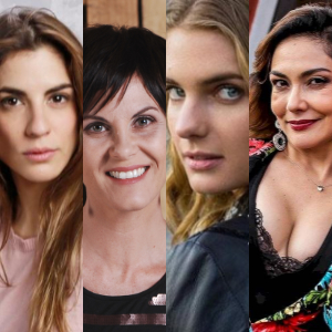 Actrices chilenas recrearon desafío viralizado por celebridades de Hollywood
