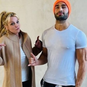 Britney Spears saludó a su pololo con un divertido video